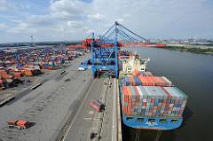 HHLA Containerterminal Altenwerder Hamburger Hafen