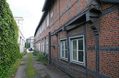 Geschichte Hamburg Harburgs - Historische Fachwerkarchitektur - Bornemannsche Haus, Harburger Schlossstrasse;
