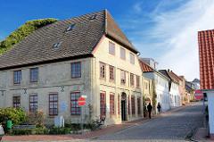 Historisches Wohnhaus in der Burgstrasse von Neustadt in Holstein.