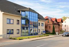Wohnhaus mit Glasfassade - Architekturbilder aus Mirow, Landkreis Mecklenburgische Seenplatte.