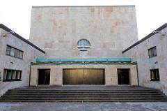 Ehemalige Synagoge des Tempelverbandes in der Oberstrasse in Hamburg Harvestehude - 1931 erbaut, Architekten Ascher und Friedmann.