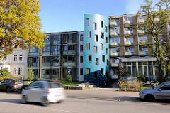 Moderne Architektur - Stiftung Altenheim St. Johannis · St. Nikolai in Hamburg Harvestehude.