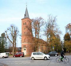 Marienkirche in Quickborn - klassizistischer Kirchenbau, geweiht 1809 - Architekt Christian Frederik Hansen.
