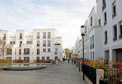 Luxuswohnungen / Neubauten auf dem ehem. Gelände der Standortkommandantur an der Sophienterrasse in Hamburg Harvestehude.
