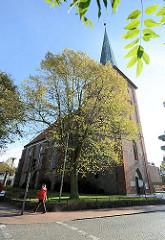 Stadtkirche in Neustadt, Holstein - Backsteingotik, erbaut im 14. Jahrhundert.