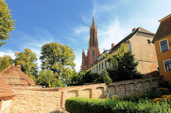 Klosteranlage in Malchow - Orden der Büsserinnen der Heiligen Maria Magdalena.