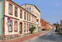 Leerstehende Wohngebäude in der Augustenstrasse / Hagenow..