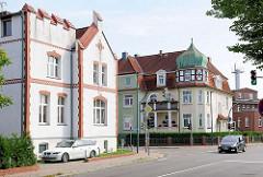 Wohnhäuser in Hagenow - Architekturbilder der Stadt.