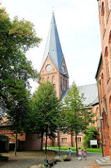 Stadtkirche von Hagenow - fertiggestellt 1879 - Baustil Neogotik / Neugotik.