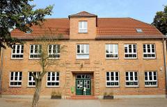 Stadtschule am Mühlenteich in Hagenow am Mühlenteich / Kirchenplatz.