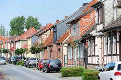 Wohnhäuser in Hagenow / Hagenstrasse.