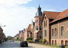 Wohnhäuser in der Poststrasse, Hagenow.