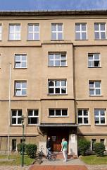 Gebäude / Eingang Amtsgericht Hagenow, Augustenstrasse.