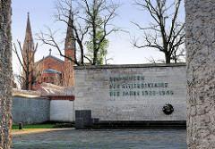 Gedenkstätte Plötzensee in Berlin - die Gedenkstätte Plötzensee erinnert an die Opfer des Nationalsozialismus im Strafgefängnis Berlin-Plötzensee.