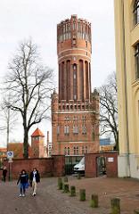 Wasserturm in Lüneburg - fertig gestellt 1907; Höhe 56m, 1986 ausser Dienst gestellt.