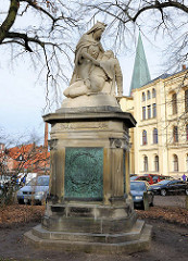 Denkmal für die Toten des Deutsch-Französichen Krieges 1870/71 in Lüneburg.