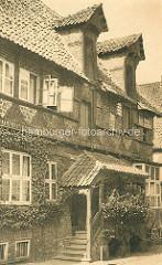 Historische Fotografie aus Lüneburg - Haus am Werder.