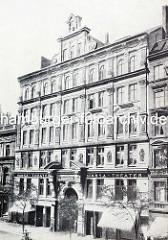Historische Aufnahme vom Hansa Varieté im Steindamm von Hamburg St. Georg.