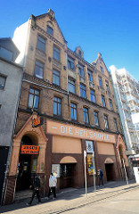 Gebäude der Heilsarmee in der Talstrasse, Hamburg St. Pauli.