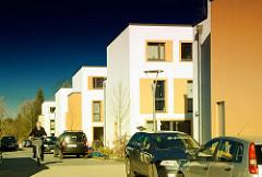 Neubauwohnungen auf dem Gelände vom Krankenhaus Ochsenzoll /  Asklepios Klinik Nord-Ochsenzoll in Hamburg Langenhorn.