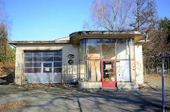 Stillgelegte alte Tankstelle - Langenhorner Chaussee, Hamburg Langenhorn.
