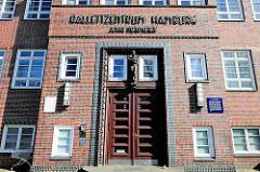 Ballettschule des Hamburg Ballett / Ballettzentrum Hamburg; John Neumeier in Hamburg Hamm; ehemalige Oberrealschule für Mädchen, erbaut 1930;  Architekt  Fritz Schumacher.