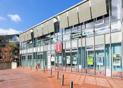 Moderne Architektur - Buchholz in der Nordheide, Touristen Information / Bücherhalle.