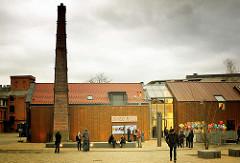 Das Kulturzentrum Zinnschmelze in Barmbek Nord - ehem. New-York Hamburger Gummi-Waaren Compagnie.