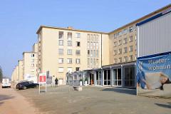 Sanierte Gebäude der ehem. KdF-Urlaubsanlage in Prora / Binz an der Ostsee.