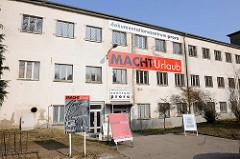 Dokumentationszentrum Prora in der geplanten Kdf-Ferienanlage von Prora an der Ostsee auf Rügen - Ausstellung MachtUrlaub.