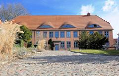 Klosterhof des ehem. Zisterziseninnenkloster in Bergen auf Rügen.