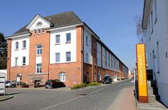 Businesspark Bahrenfeld - ehem. Kavallerieschule im Hamburger Bezirk Altona..