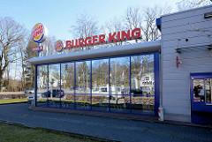 Neubau eines Schnellrestaurants in Hamburg Langehorn; Langenhorner Chaussee / Tarpen.