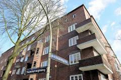 Wohnhäuser ELISA / Das historische Backstein-Ensemble ELISA in Hamburg Hamm war Ausdruck der Hamburger Architektur der 1920er Jahre in der Ära des Oberbaudirektors Fritz Schumacher.
