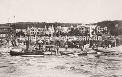 Historisches Foto von Binz auf Rügen -