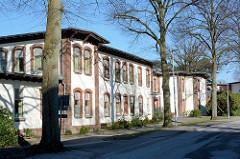 Restaurierte historische Architektur, Krankenhaus Ochsenzoll /  Asklepios Klinik Nord-Ochsenzoll.
