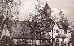 Historisches Foto vom Bärenhof in Hamburg Langenhorn - Langenhorner Chaussee.