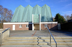 Kapelle, Schröderstift in Hamburg Langenhorn, Kiwittsmoor.