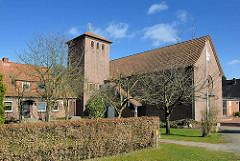 St. Petruskirche in Buchholz, Lüneburger Strasse.