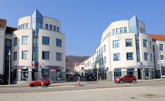 Einkaufszentrum Rügen-Galerie an der Hauptstasse in Sassnitz, eröffnet 1997.