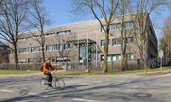 Neubau des Polizeikommisariats 25 in dder Notkestrasse in Hamburg Bahrenfeld.