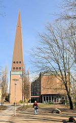 Kirchengebäude der Jugendkirche in Hamburg Bahrenfeld.