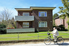 Backsteinarchitektur, Wohnhaus der Theodor-Johannsen-Siedlung in Wedel.