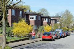 Backsteinarchitektur, Wohnhäuser der Theodor-Johannsen-Siedlung in Wedel.