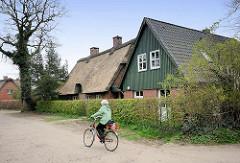 Historische Architektur - Wohnhäuser in Wedel / Holstein.