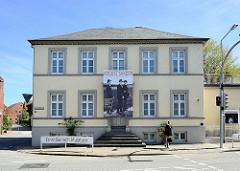 Ernst Barlach Museum in der Mühlenstrasse in Wedel - Geburtshaus des Künstlers.