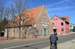 Ehem. Brauhaus - historische Architektur / Kulturdenkmal in Wedel, Mühlenstrasse.