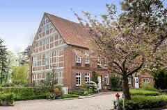 Fachwerkgebäude im Ortsteil Borstel, Gemeinde Jork - Landkreis Stade.