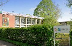 Eingang Stadtteilschule Stellingen - Gymnasiale Oberstufe.