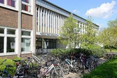 Eingang Albrecht Thaer Gymnasium in Hamburg Stellingen